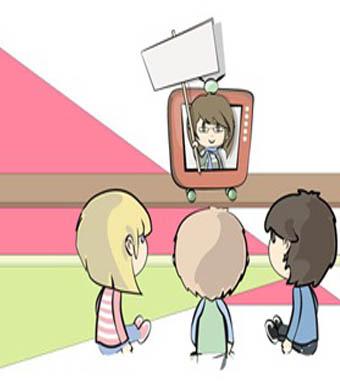 مشاهدة التليفزيون وتأثيرها على مهارات التواصل لدى الأطفال