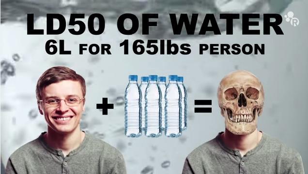 على عكس الدراسات السابقة: شرب الماء بكثرة ليس مفيد وقد يسبب الموت