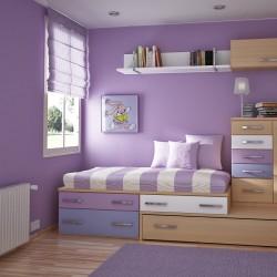 نصائح لإدخال اللون البنفسجي لغرفة نومك