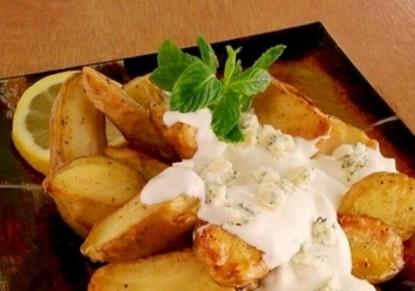 البطاطا مع صوص الريكفورد