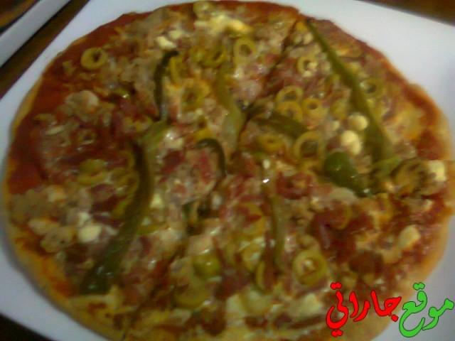 بيتزا سهلة بالصور وبالتفصيل