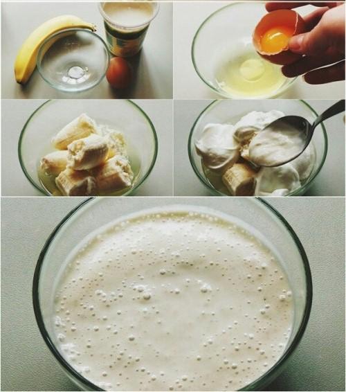 قناع الموز لبشرة منعشة