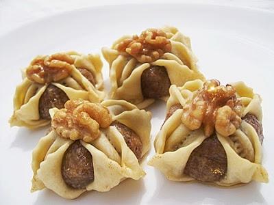 بالصور مقادير و طريقة تحضير أفضل الحلويات المغربية حلوى باللوز