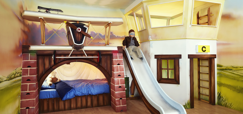 اروع تصميمات وافكار لغرف نوم الاطفال 2015