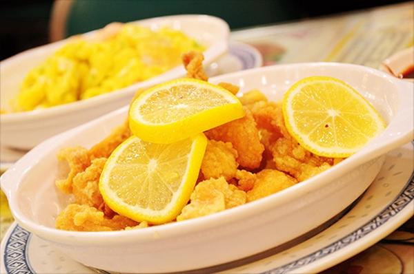 أكلات شرقية: دجاج بصوص الليمون والبرتقال