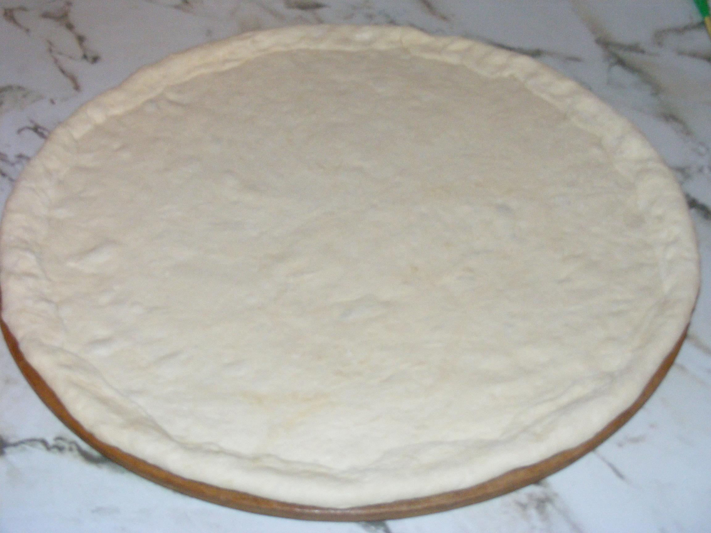 عجين بيتزا بالبطاطا