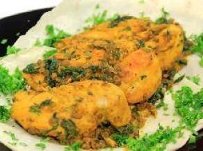 دجاج بالسبانخ والخرشوف على الطريقة المغربية