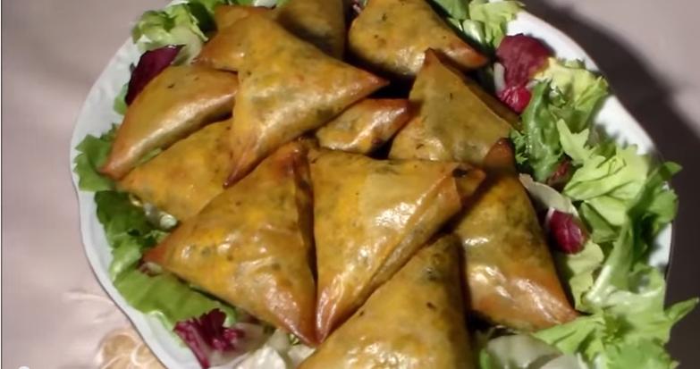 بريوات بالدجاج في الفرن شهيوات رمضان