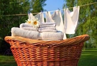 تبييض الملابس