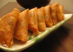 بريوات بالدجاج والشعرية الصينية